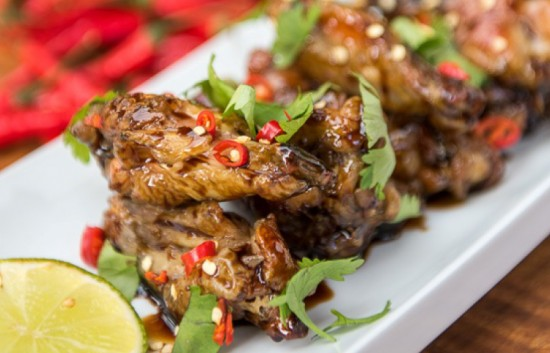 crispy chili lime wings