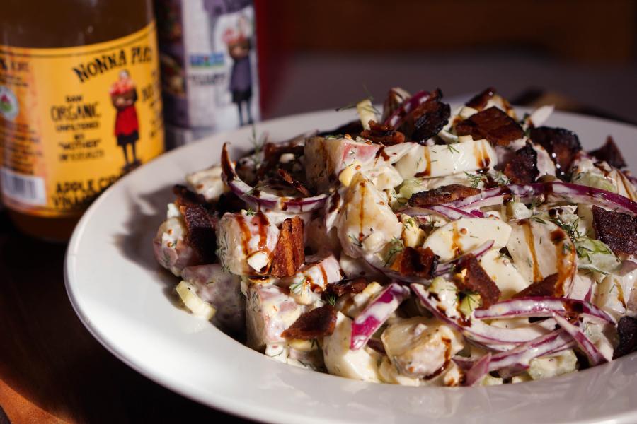 nonna pias potato salda with nonna pias acv