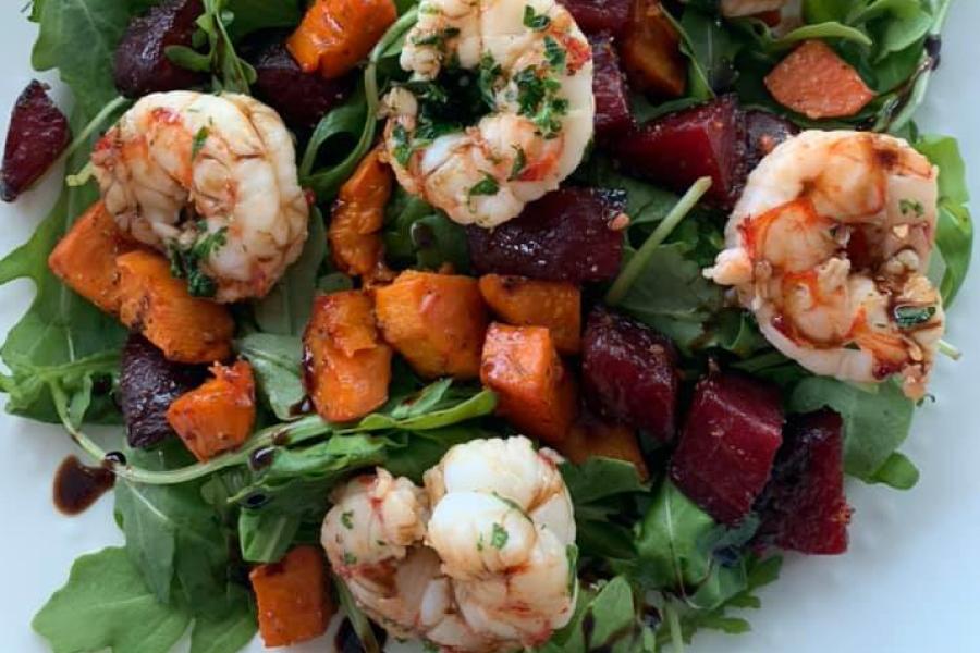 Wild Argentine Shrimp Salad